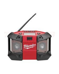 MILWAUKEE TYÖMAARADIO 12V/230V MP3