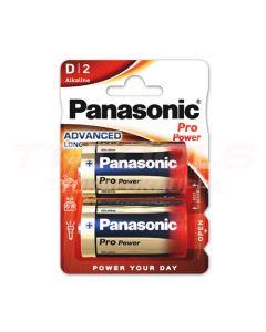 PANASONIC ALKALI PARISTO LR20  2KPL D 1,5V